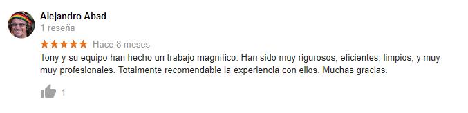 Comentarios Google